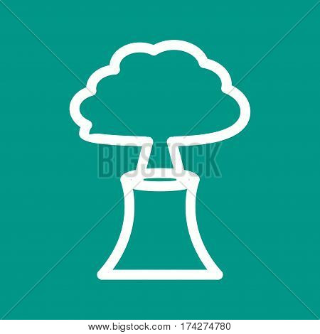 Volcano, eruption, lava icon vector image. Can also be used for disasters. Suitable for mobile apps, web apps and print media.