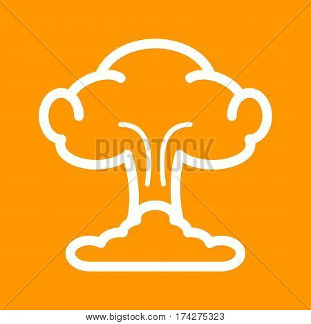 Explosion, fire, blast icon vector image. Can also be used for disasters. Suitable for use on web apps, mobile apps and print media.