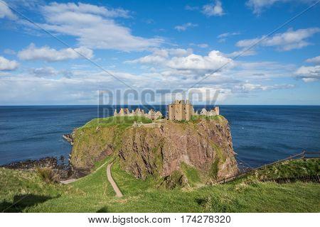 Dunnottar Castle - Stonehaven Aberdeenshire Scotland United Kingdom