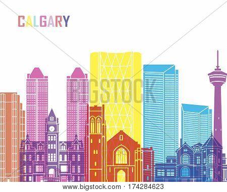 Calgary V2 Skyline Pop