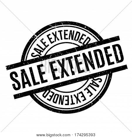 Sale Extended rubber stamp. Grunge design with dust scratches. Effects can be easily removed for a clean, crisp look. Color is easily changed.