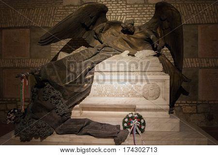 The Crypt In The Church Of St. Adalbert In Esztergom