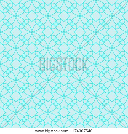 Lace seamless pattern. Fashion graphic background design. Modern stylish abstract color texture. Template for prints textiles wrapping wallpaper website. Stock VECTOR illustration