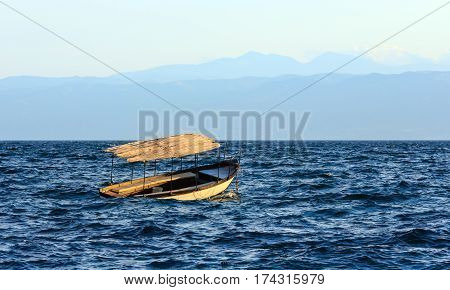 Lake Ohrid Misty View.