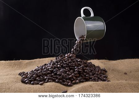 Levitating Coffee Cup