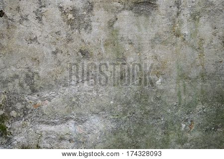 old decreptin concrete wall defies time. empty