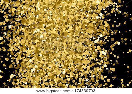 Gold Glitter Texture.