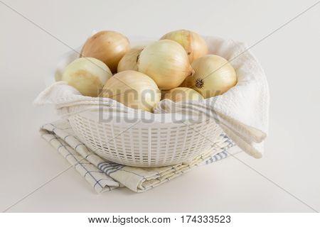 Bright Onion Pile