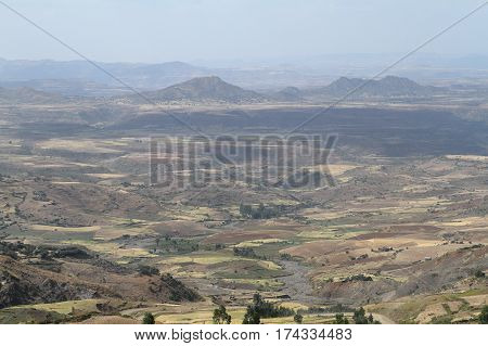 The Landscapes and Nature of Ethiopia in Africa