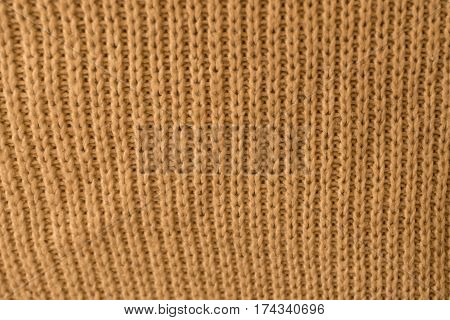 the texture of a knitted sweater close up