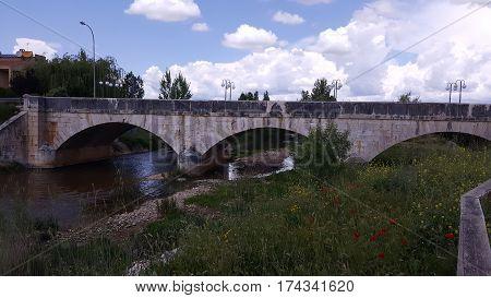 The town of Burgo de Osma in Soria, Spain
