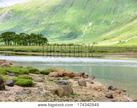 Glen Etive by Glencoe, Scotland United Kingdom