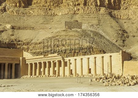 Ancient Valley Of Queens Temple In Luxor