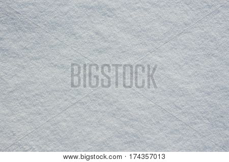 Fresh White Snow Texture On Winter Ground