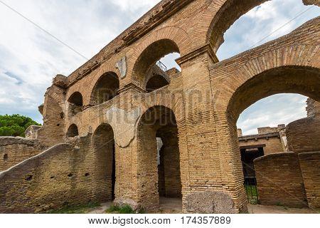 Arches, Ostia Antica Italy