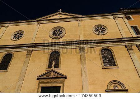 Nostra Signora Del Sacro Cuore Piazza Navone, Rome, Italy