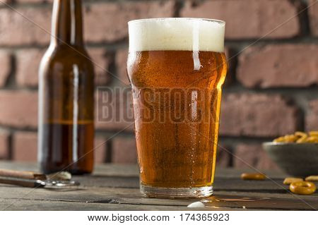 Cold Refreshing American Lager Crafter Beer