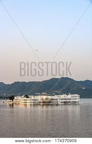 Lake Palace, Udaipur Rajasthan In Early Morning Light
