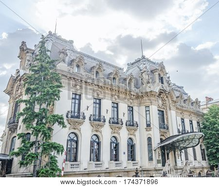 Bucharest, Romania - May 25, 2014: The National Museum