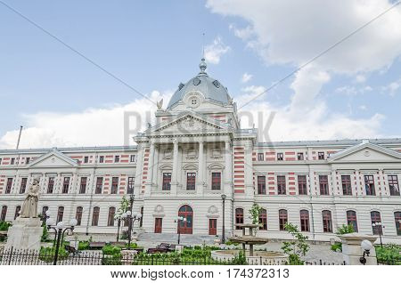 Bucharest, Romania - May 25, 2014: The Hospital Coltea. The First Hospital From Bucharest Build In 1