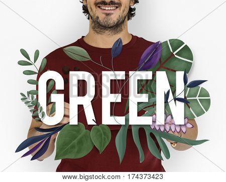 Earth Eco Peace Organic Fresh Nature