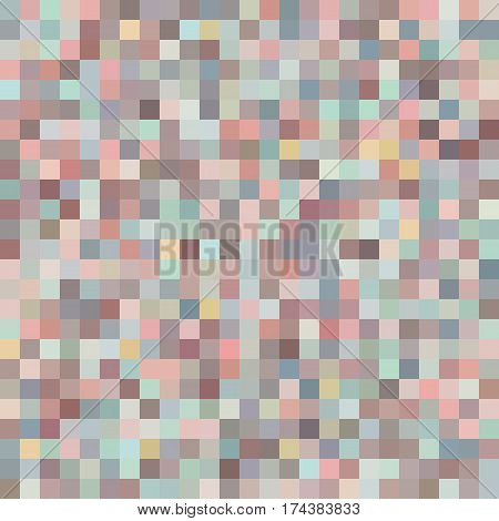 Seamless Symmetric Pattern of Squares Retro Colors. Geometric Concept. Backdrop for yor Pages Covers Flyers Placards.