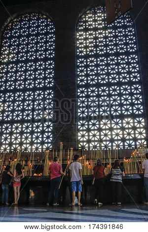 Basilica Of The National Shrine Of Our Lady Aparecida Brazil