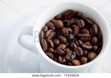 Cup Of Coffee White Clean