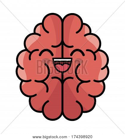 brain storming character concept icon vector illustration design