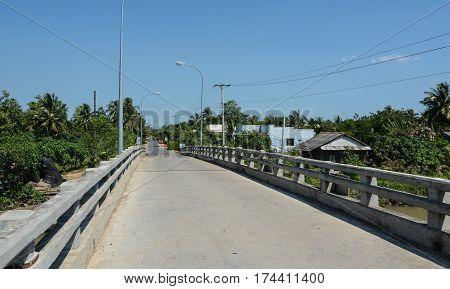 Highway In Southern Vietnam