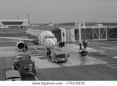 Klia2 Airport In Kuala Lumpur, Malaysia