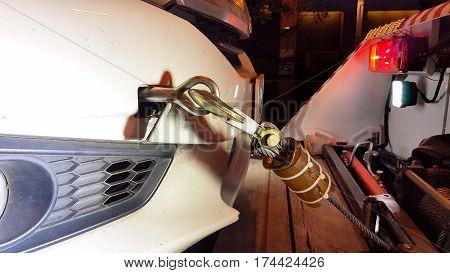 Metal Hook Strap With A Car's Loop