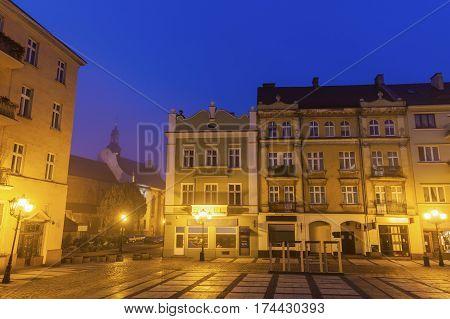 Main Square of Kalisz. Kalisz Greater Poland Poland.