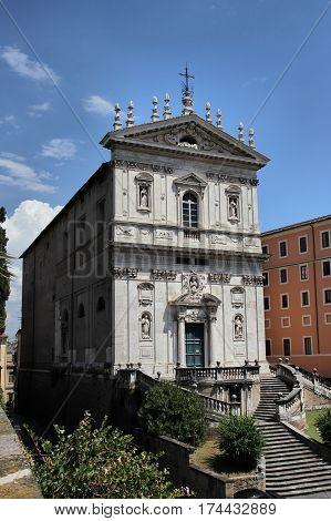 Santa Caterina a Magnanapoli 16th-century church in Rome Italy