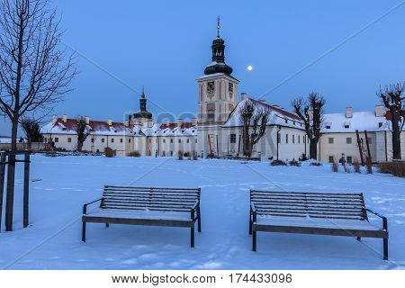 Former Jesuit College in Kutna Hora. Kutna Hora Central Bohemian Region Czech Republic.