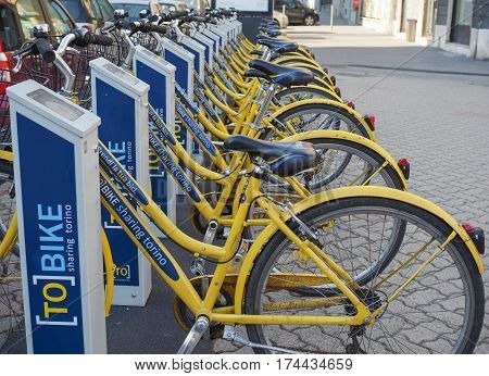 Bicycle Sharing System In Turin