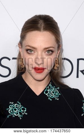 LOS ANGELES - MAR 1:  Amanda Seyfried at the