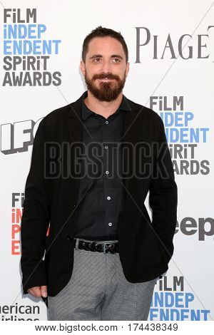 LOS ANGELES - FEB 25:  Pablo Larrain at the 32nd Annual Film Independent Spirit Awards at Beach on February 25, 2017 in Santa Monica, CA