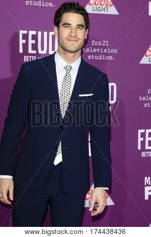 LOS ANGELES - MAR 1:  Darren Criss at the