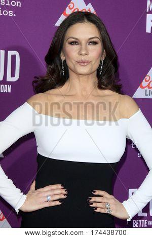 LOS ANGELES - MAR 1:  Catherine Zeta-Jones at the