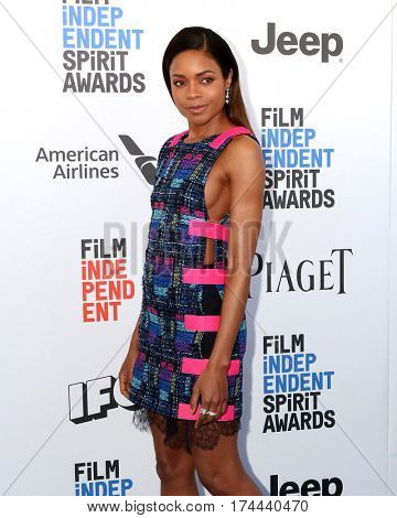 LOS ANGELES - FEB 25:  Naomie Harris at the 32nd Annual Film Independent Spirit Awards at Beach on February 25, 2017 in Santa Monica, CA