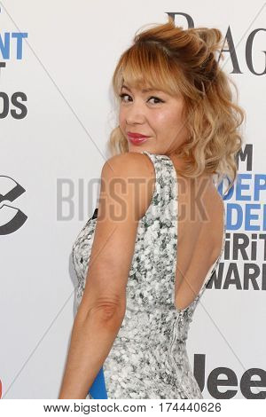 LOS ANGELES - FEB 25:  Katherine Castro at the 32nd Annual Film Independent Spirit Awards at Beach on February 25, 2017 in Santa Monica, CA