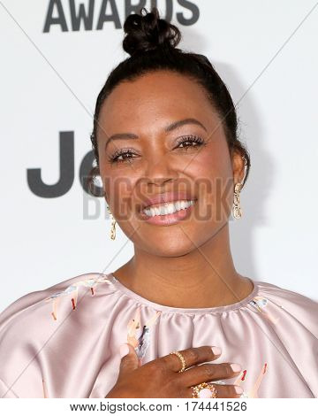 LOS ANGELES - FEB 25:  Aisha Tyler at the 32nd Annual Film Independent Spirit Awards at Beach on February 25, 2017 in Santa Monica, CA