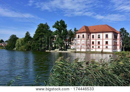 beautiful castle Horni Cerkev in Czech republic