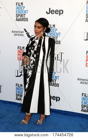 LOS ANGELES - FEB 25:  Janelle Monae at the 32nd Annual Film Independent Spirit Awards at Beach on February 25, 2017 in Santa Monica, CA