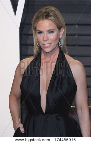 LOS ANGELES - FEB 26:  Cheryl Hines at the 2017 Vanity Fair Oscar Party  at the Wallis Annenberg Center on February 26, 2017 in Beverly Hills, CA