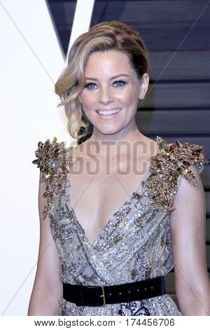 LOS ANGELES - FEB 26:  Elizabeth Banks at the 2017 Vanity Fair Oscar Party  at the Wallis Annenberg Center on February 26, 2017 in Beverly Hills, CA