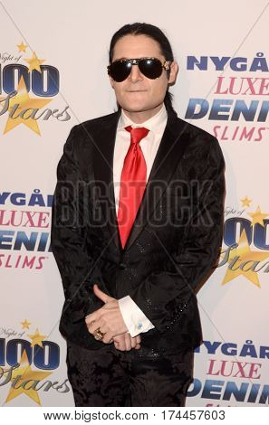 LOS ANGELES - FEB 26:  Corey Feldman at the 27th Annual Night of 100 Stars Oscar Viewing Gala at the Beverly Hilton Hotel on February 26, 2017 in Beverly Hills, CA