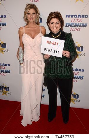 LOS ANGELES - FEB 26:  Summer Zervos, Gloria Allred at the 27th Annual Night of 100 Stars Oscar Viewing Gala at the Beverly Hilton Hotel on February 26, 2017 in Beverly Hills, CA
