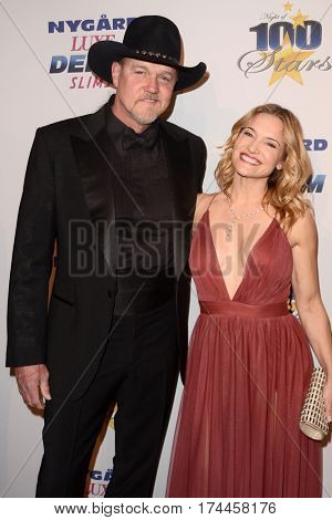 LOS ANGELES - FEB 26:  Trace Adkins, Victoria Pratt at the 27th Annual Night of 100 Stars Oscar Viewing Gala at the Beverly Hilton Hotel on February 26, 2017 in Beverly Hills, CA